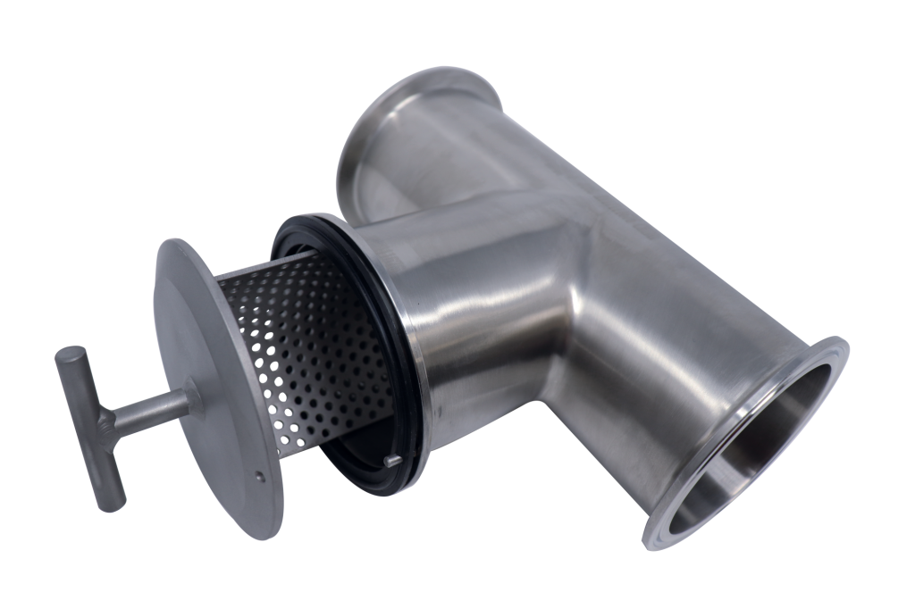 Tee-Line Strainer with Alignment Pin